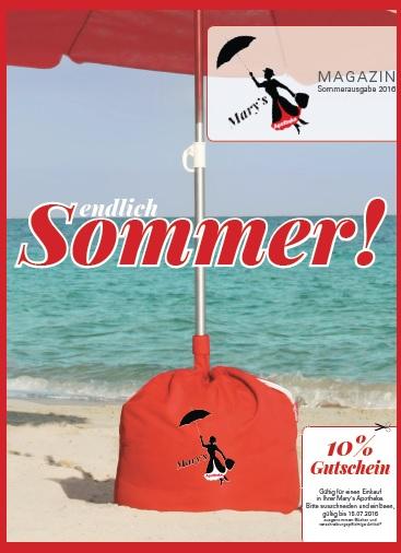 """Das neue Mary's Magazin """"Sommer"""" ist da!"""