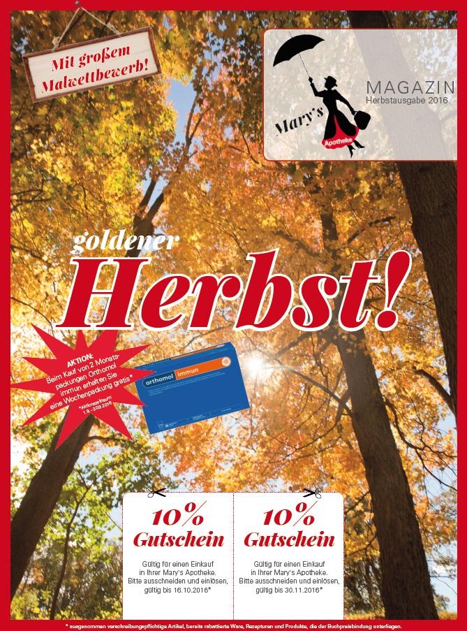 Unser Herbst-Magazin ist da!